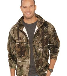 3989 Code V REALTREE Zipper Hooded Sweatshirt