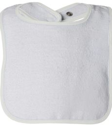 R1003 Rabbit Skins Rabbit Skins Infant Terry Snap Bib