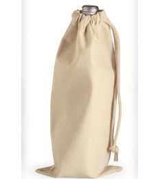 Liberty Bags 1727 10 Ounce Cotton Canvas Drawstring Wine Bag