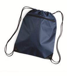 8888 Liberty Bags - Denier Nylon Zippered Drawstring Backpack