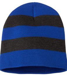 SP01 Sportsman  - Rugby Striped Knit Beanie -