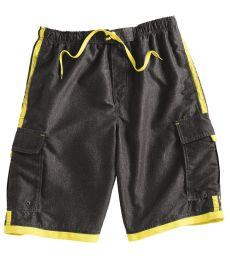 B9401 Burnside Swim Striped Board Shorts