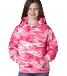 2969 Code V Youth Camouflage Pullover Hooded Sweatshirt