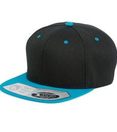 110F Flexfit Wool Blend Flat Bill Snapback Cap