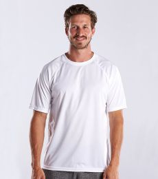 US Blanks US2999 Men's Performance Raglan Tee