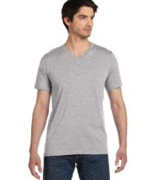 BELLA+CANVAS 3005U USA Made Jersey Short Sleeve V-Neck Tee