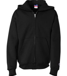 S890 Champion Youth 9 oz., 50/50 Full-Zip Hoodie