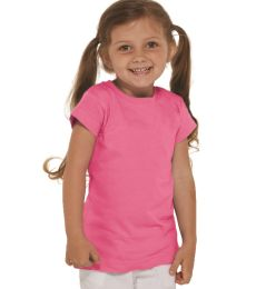 3316 Rabbit Skins® Toddler Girls Fine Jersey T-Shirt