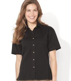 Sierra Pacific 5202 Women's Short Sleeve Cotton Twill Shirt