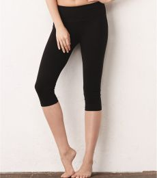 0811 Bella + Canvas Ladies' Cotton/Spandex Capri Fit Legging