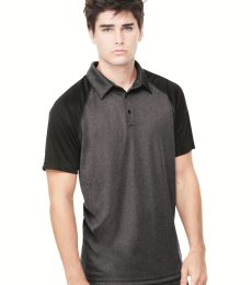 M1829 All Sport Men's Performance Three-Button Raglan Polo