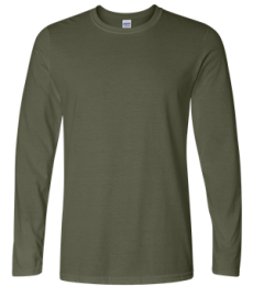 64400 Gildan Adult Softstyle Long-Sleeve T-Shirt