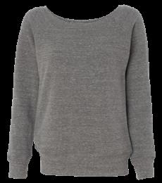 BELLA 7501 Womens Fleece Pullover Sweatshirt