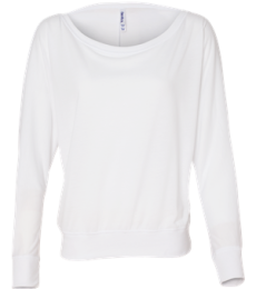 BELLA 8850 Womens Long Sleeve Dolman Top