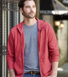 Alternative Apparel 9880 Mens Eco-Mock Twist Hoodie