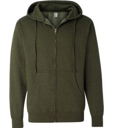 SS4500Z - Independent Trading Co. Basic Full Zip Hooded Sweatshirt