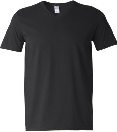 64V00 Gildan Adult Softstyle V-Neck T-Shirt