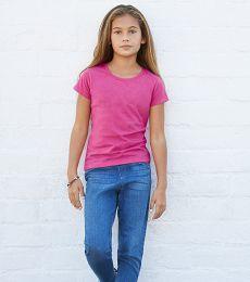 3362 ALSTYLE Girl Sheer Jersey Full Length T
