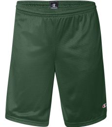 81622 Champion Logo Long Mesh Shorts with Pockets