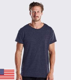US Blanks US3400 Men's 4.9 oz. Triblend Skater Tee
