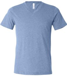 BELLA+CANVAS 3415 Men's Tri-blend V-Neck T-shirt