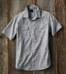 B9247 Burnside - Textured Solid Short Sleeve Shirt