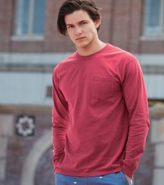 4410 Comfort Colors - Long Sleeve Pocket T-Shirt
