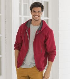 SF73R Fruit of the Loom 7.2 oz. Sofspun™ Full-Zip Hooded Sweatshirt