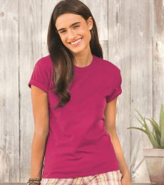 SFJ Fruit of the Loom Ladies' Sofspun™ Junior Fit T-Shirt