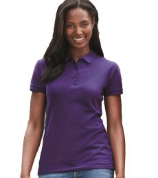 Gildan 82800L Premium Cotton Ladies' Double Piqué Polo