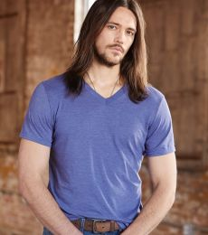 6752 Anvil  Triblend V-Neck T-Shirt