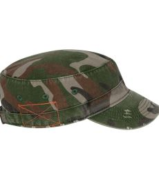 Alternative Apparel AH73 Destroyed Military Hat