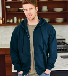 F280 Hanes® PrintPro®XP™ Ultimate Cotton® Full Zip Hooded Sweatshirt