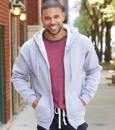 J. America - Premium Full-Zip Hooded Sweatshirt - 8821