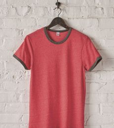 Alternative Apparel 1957 Men's Eco Ringer Tee