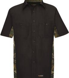 Wrangler WS40 Short Sleeve Camo Shirt