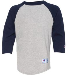 Champion T13Y Youth Raglan Baseball T-Shirt