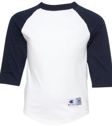 Champion T13Y Youth Raglan Baseball T-Shirt
