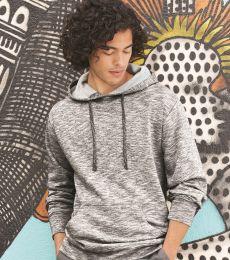 Burnside 8609 Injected Yarn Dyed Fleece Hooded Pullover Sweatshirt
