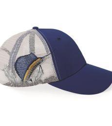 Augusta Sportswear 3455 Sailfish Performance Mesh Cap
