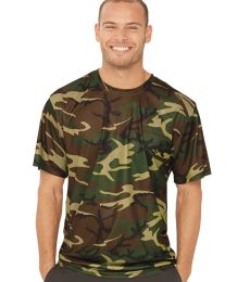 Code V 3983 Adult Performance Camo Tee