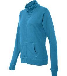 8635 J. America - Women's Sueded Fleece Full-Zip Sweatshir