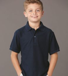 Jerzees 537YR Easy Care Youth Pique Sport Shirt
