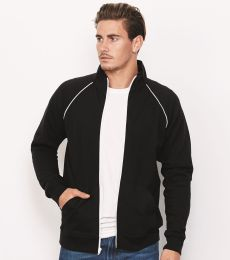 Canvas 3710 Mens Piped Track Jacket