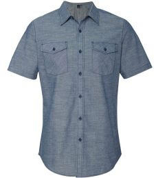 9255 Burnside - Chambray Short Sleeve Shirt