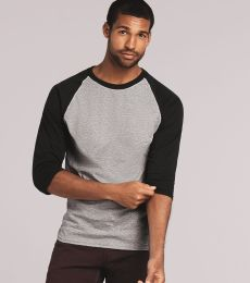 5700 Gildan Heavy Cotton Three-Quarter Raglan T-Shirt