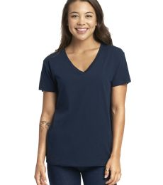 Next Level Apparel 3940 Ladies' Relaxed V-Neck T-Shirt