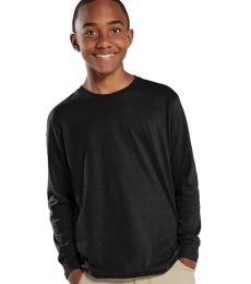 6201 LA T Youth Fine Jersey Long Sleeve T-Shirt