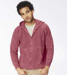 C1563 Comfort Colors 10 oz. Garment-Dyed Full-Zip Hood