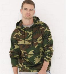 3969 Code V Camouflage Pullover Hooded Sweatshirt